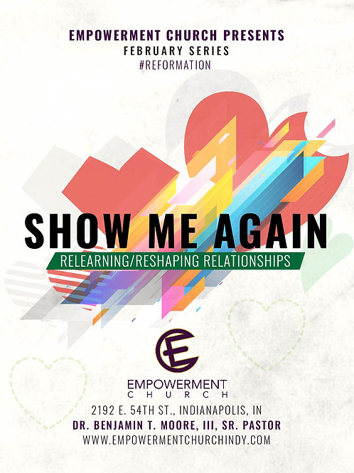 Feb. 2019 Series: Show Me Again: Relearning/Reshaping Relationships (CD Series)