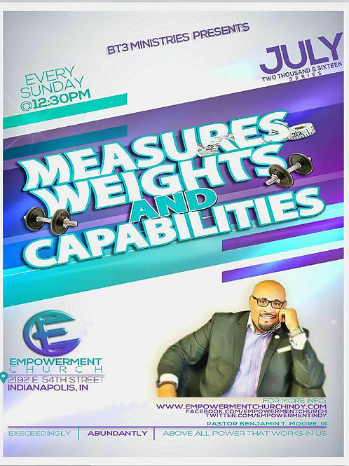 Measures, Weights & Capacities - CD Series