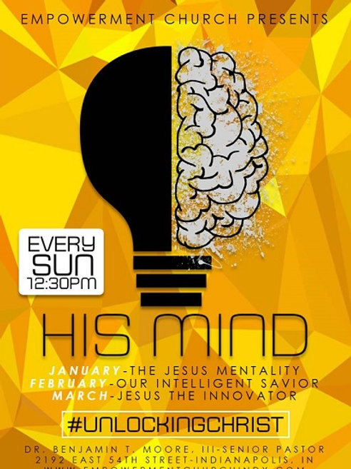 His Mind: Our Intelligent Savior (February) - DVD Series
