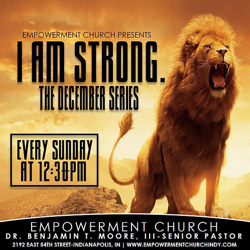 I Am Strong - CD Series