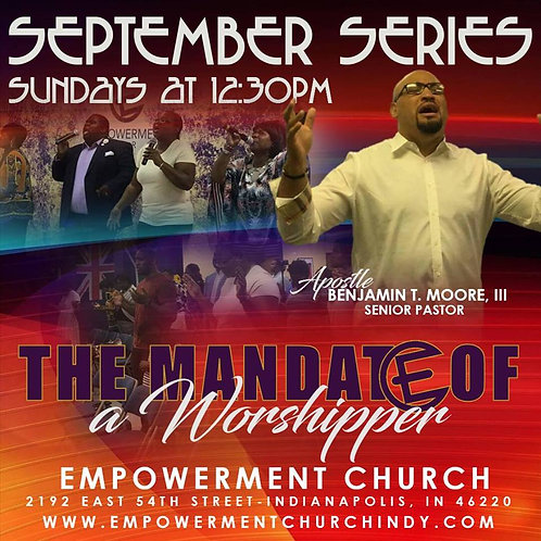 The Mandate of a Worshipper - DVD Series
