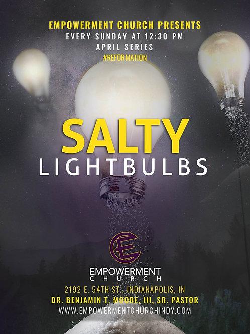 April 2019 Series: Salty Lightbulbs (CD Series)