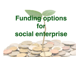 Funding for My Social Enterprise