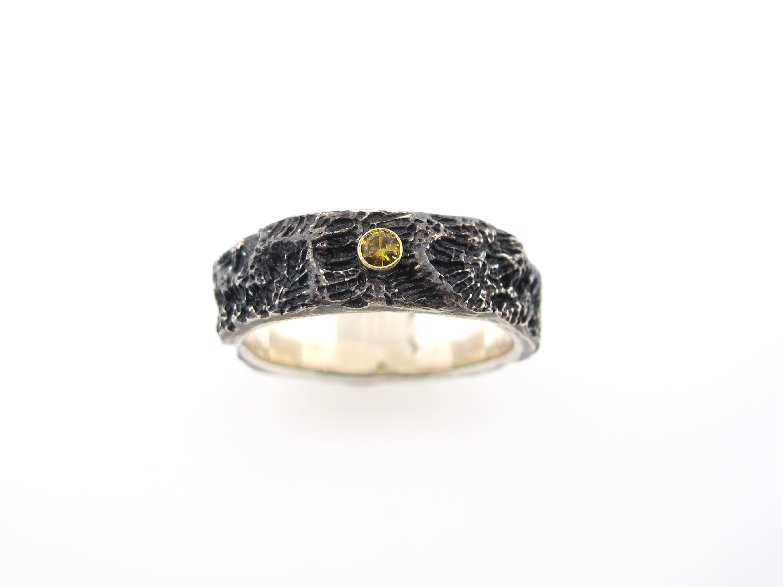 ring koraallijnen zwartgeel