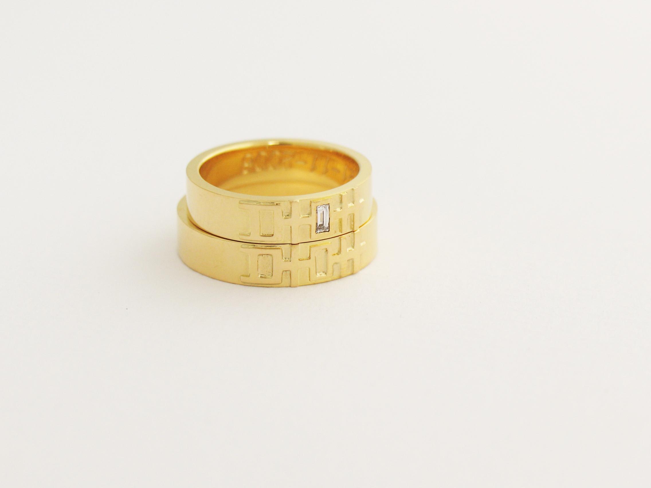 goud en diamant