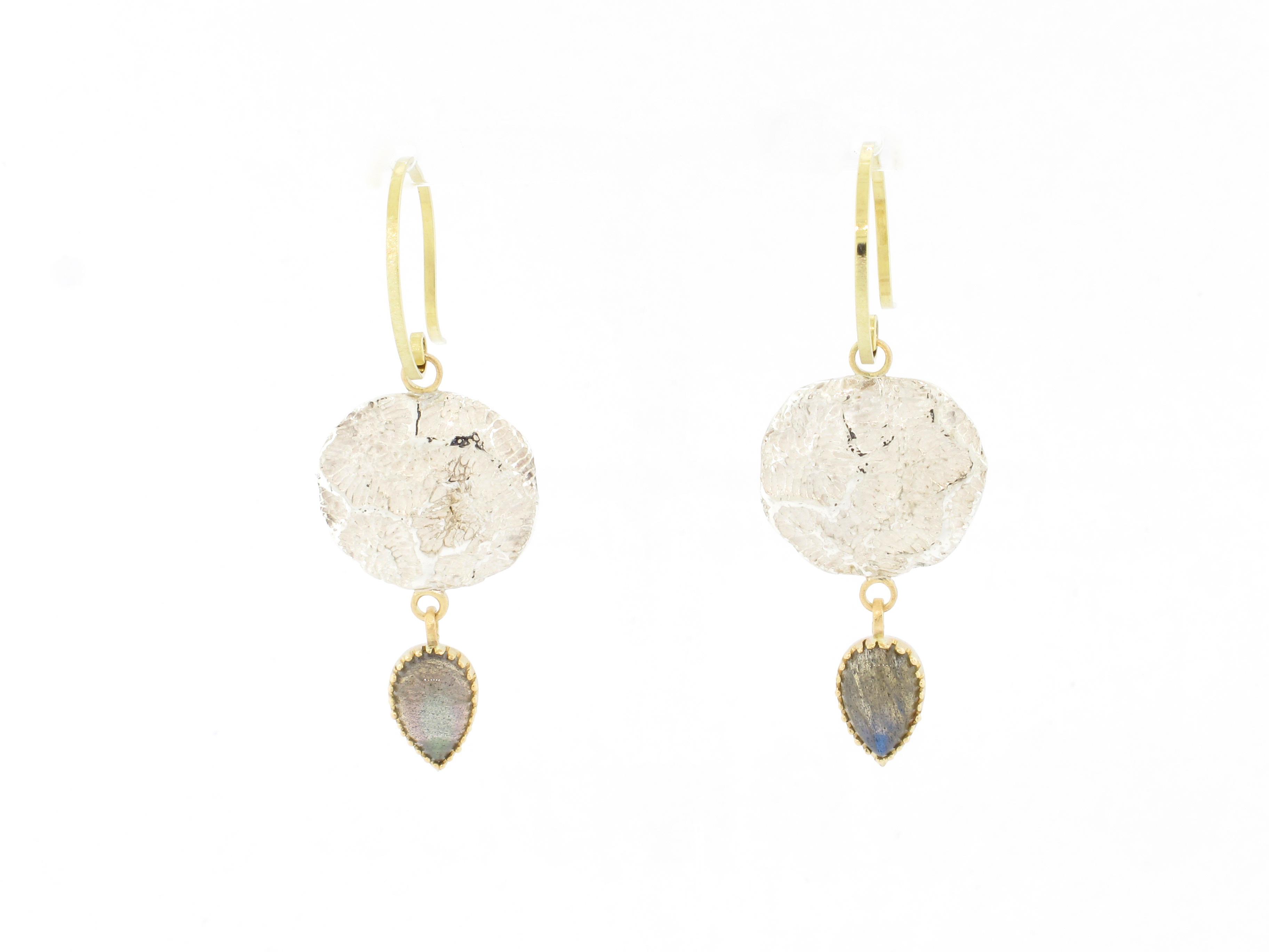 oorhangers | earrings labradorite