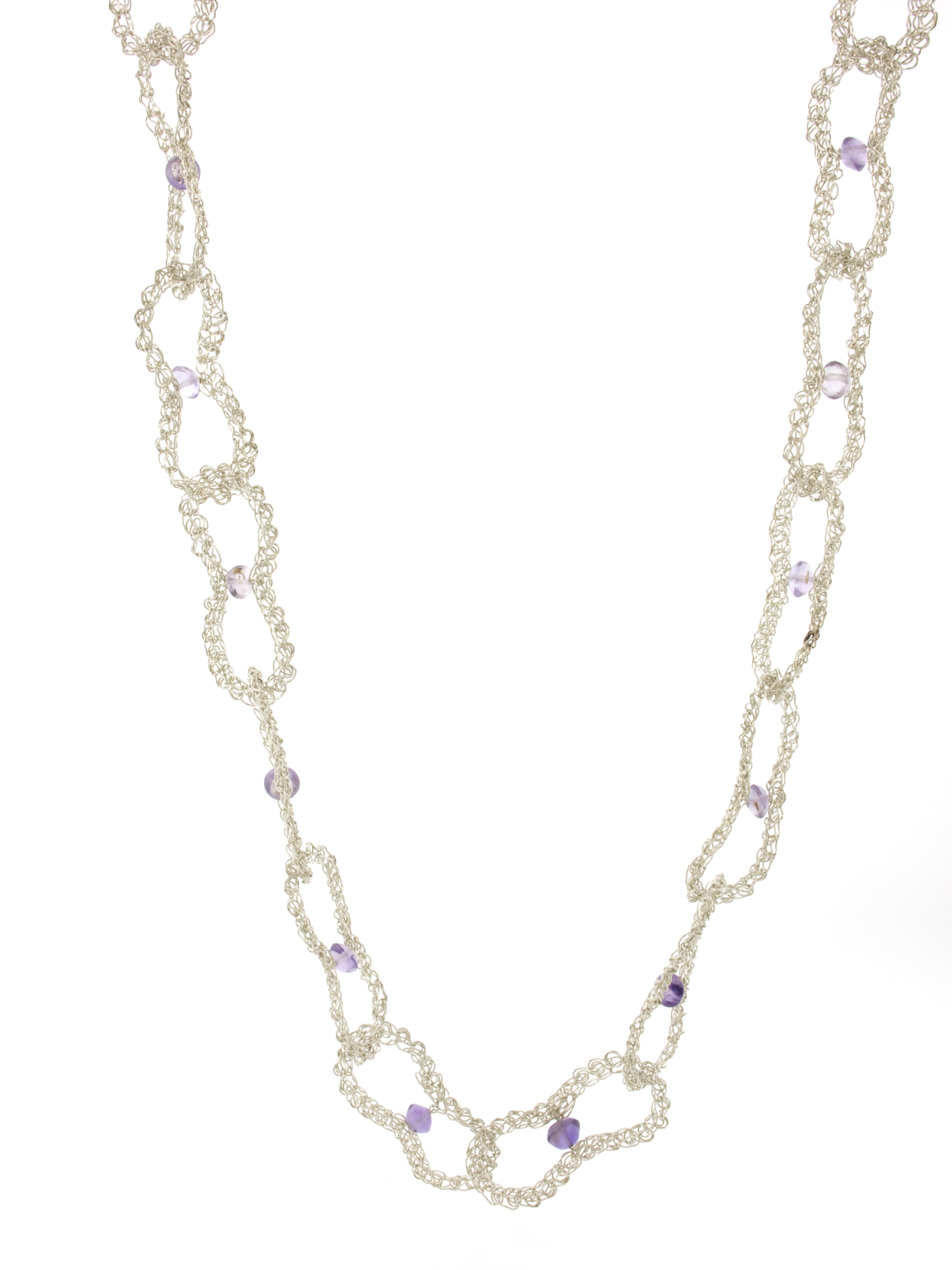 collier | necklace amethyst links