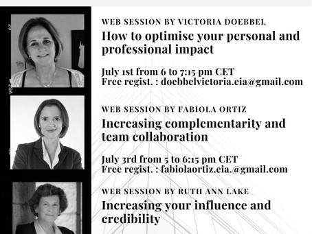 Nos sessions web sur Performer dans un contexte digital