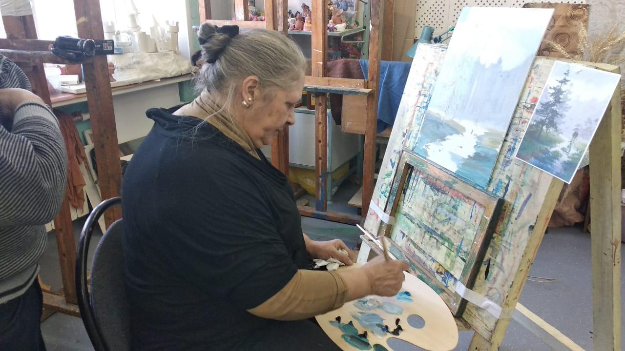 Урок масляной живописи Королёв