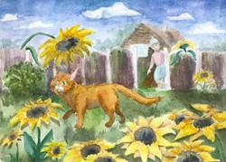 14 Рыбакова Дарья Летний кот