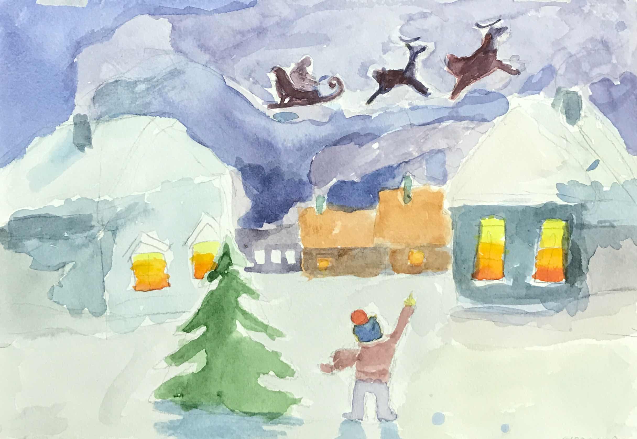 11 Михеев Ярослав Рождественская ночь
