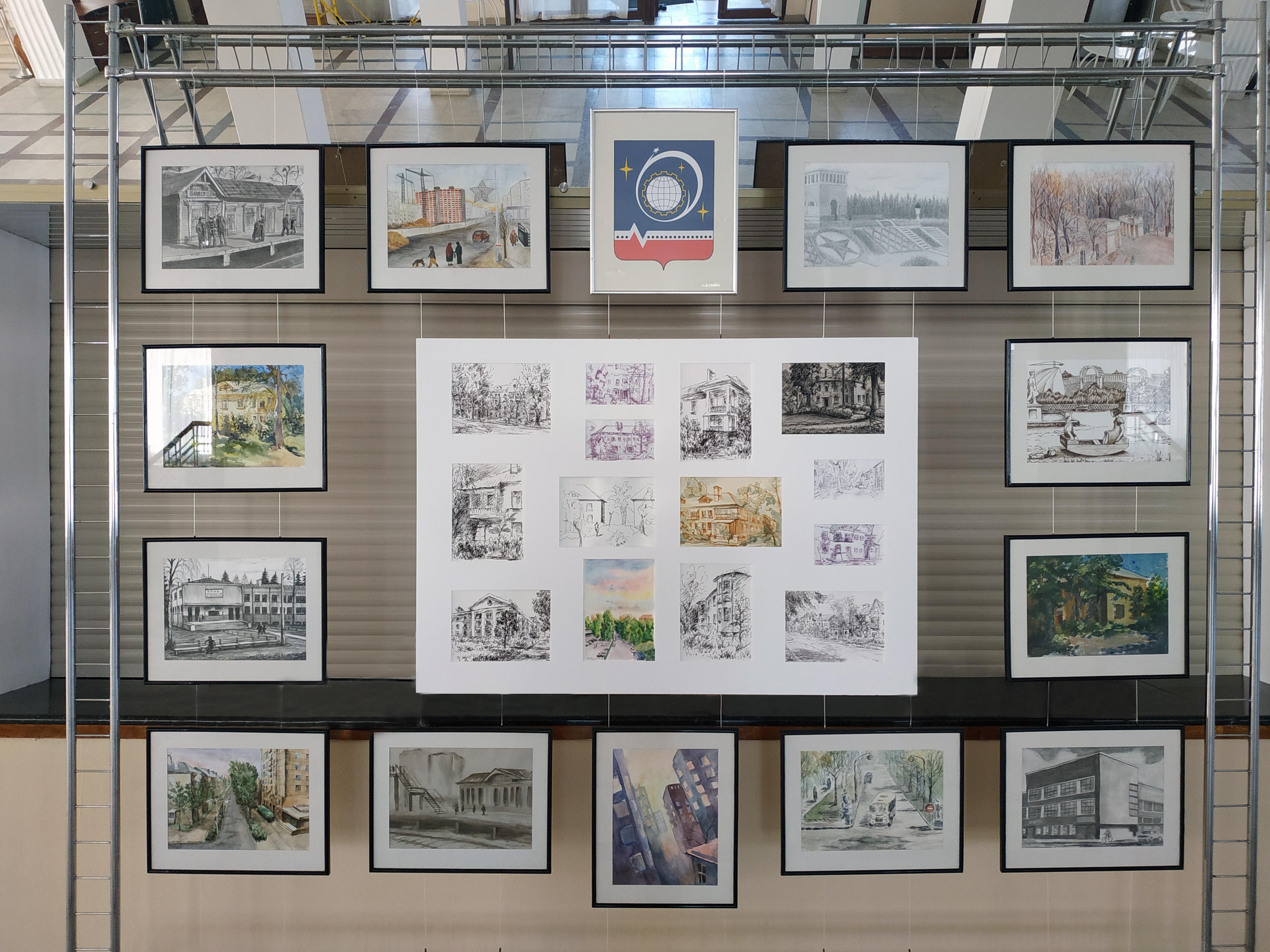 Выставка к 80-летию г. Королёв