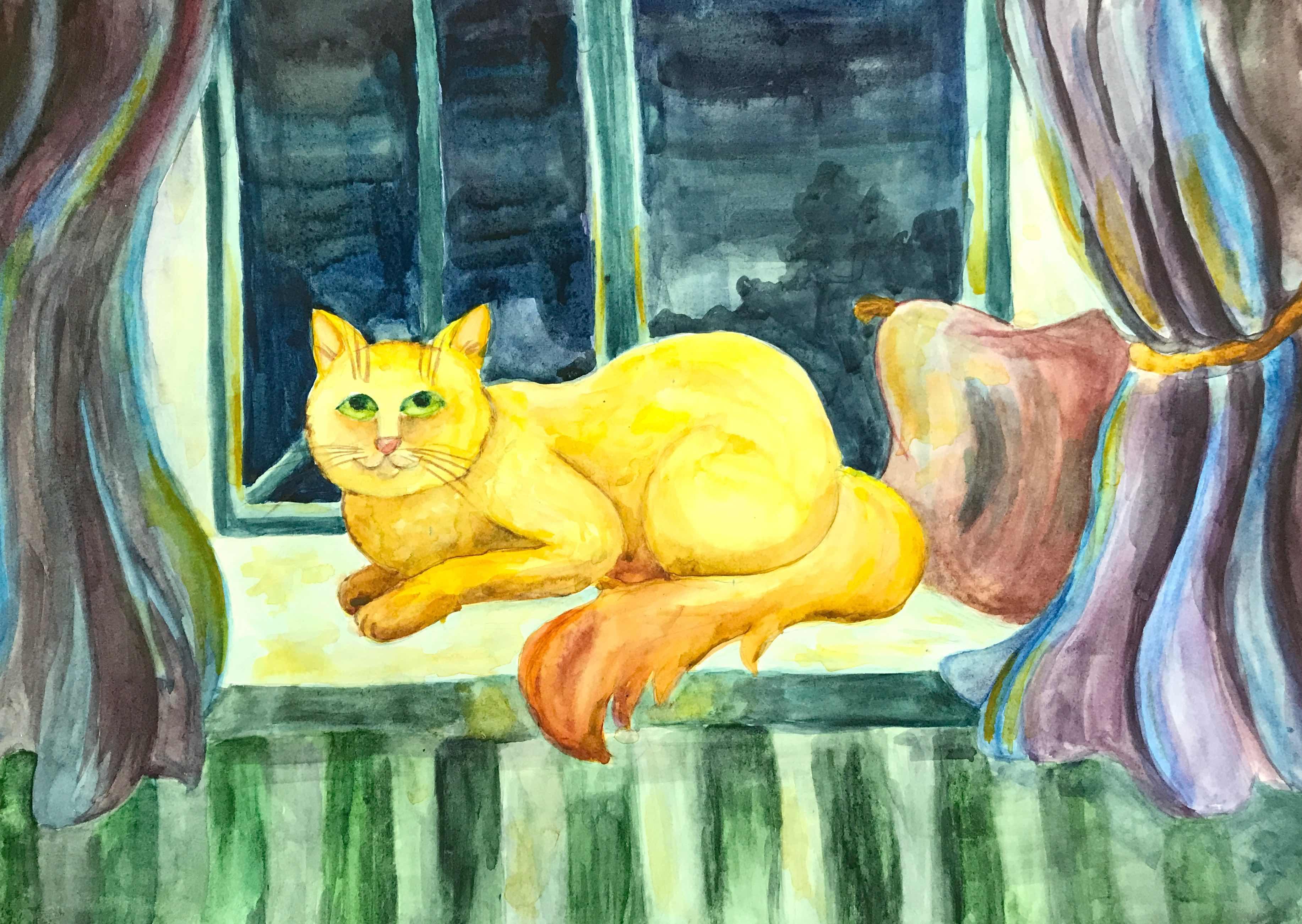 14 Ахмадова Айшат Летний кот