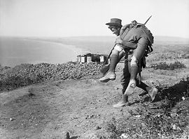carrying wounded Gallipoli 1915