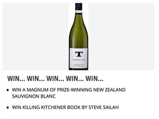 A magnum of Kiwi wine - or a 'must' read? You choose