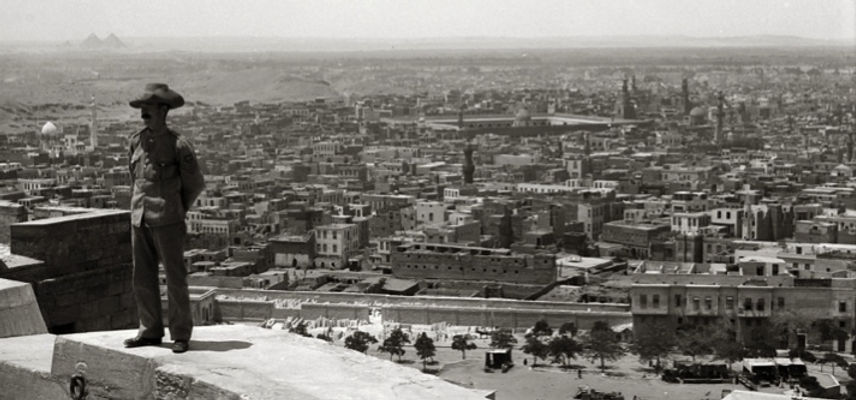 View of Cairo during WW1 from The Citadel