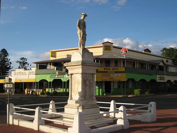 WW1 memorial in Murgon Queensland
