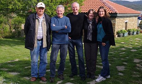 Professor Kenan Çelik OAM, Steve Sailah, Peter Rees on Gallipoli 2011
