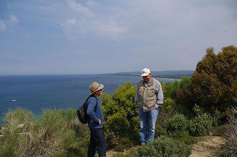 Steve Sailah and Professor Kenan Çelik OAM Quinn's Post Gallipoli