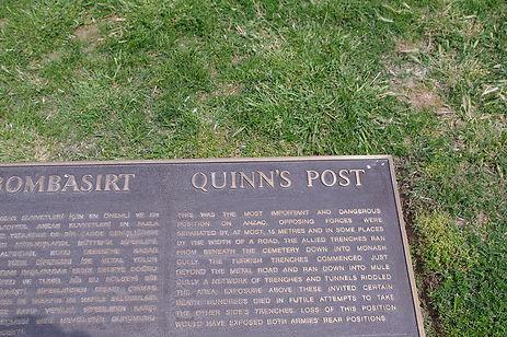 Quinn's Post Gallipoli