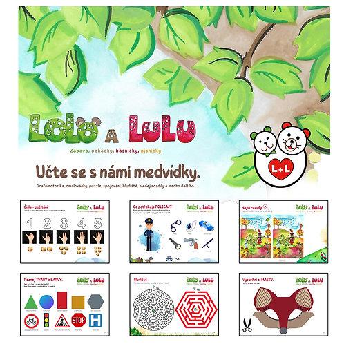 Pracovní sešit Lolo a Lulu 2.díl