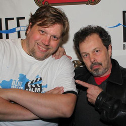 Curtis Armstrong and Jeremy Stemen