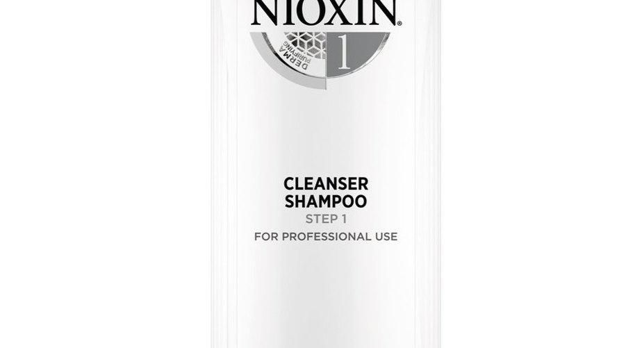 Nioxin 1000ml Shampoo System 1