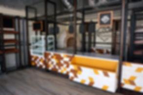 Proyectos de arquitectura y Muebles Personalizados para Cafeterías en todo México.