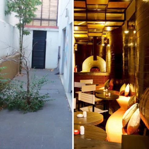 arquitectos de restaurantes. diseñadores de restaurantes en todo mexico