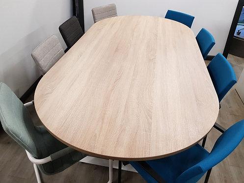 Ovale vergadertafel (Robson eiken)