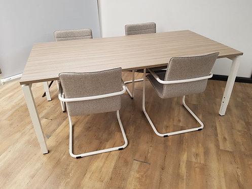 Vergadertafel 200x100 (Drift wood)