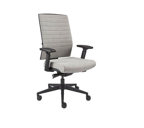 Design bureaustoel wolvilt (Licht grijs)