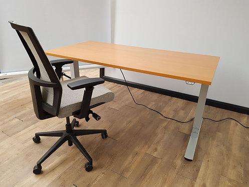 Palmberg elektrisch zit/sta bureau 160