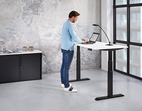 Basic zit sta bureau elektrisch verstelbaar (140x80)