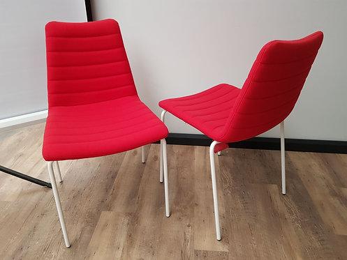 Design vergaderstoel (Rood)