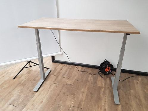 Elektrisch zit/sta bureau aluminium EZ met memory