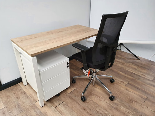 Q-bic bureau 120x60 (Wit)