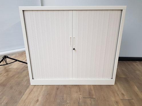 Roldeurkast 105x120 (wit)