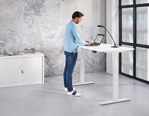 Basic zit sta bureau elektrisch verstelbaar (180x80)