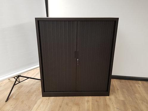 Roldeurkast 135x120 (Zwart)