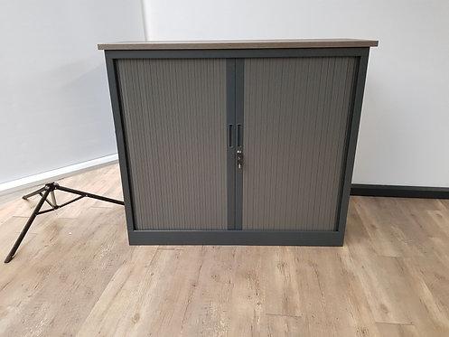 Roldeurkast 107,5x125 (Antraciet) (2)