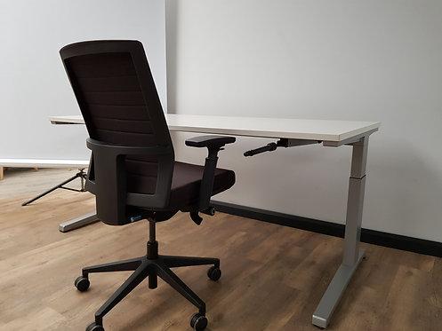 Slinger verstelbaar bureau 180x80 Steelcase