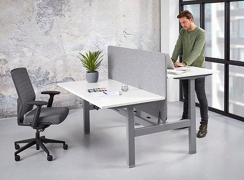 Duo zit/sta bureau elektrisch verstelbaar (180x80)