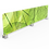 Thumbnail: Hygiëne opzet scherm voor akoestisch paneel (PVC)