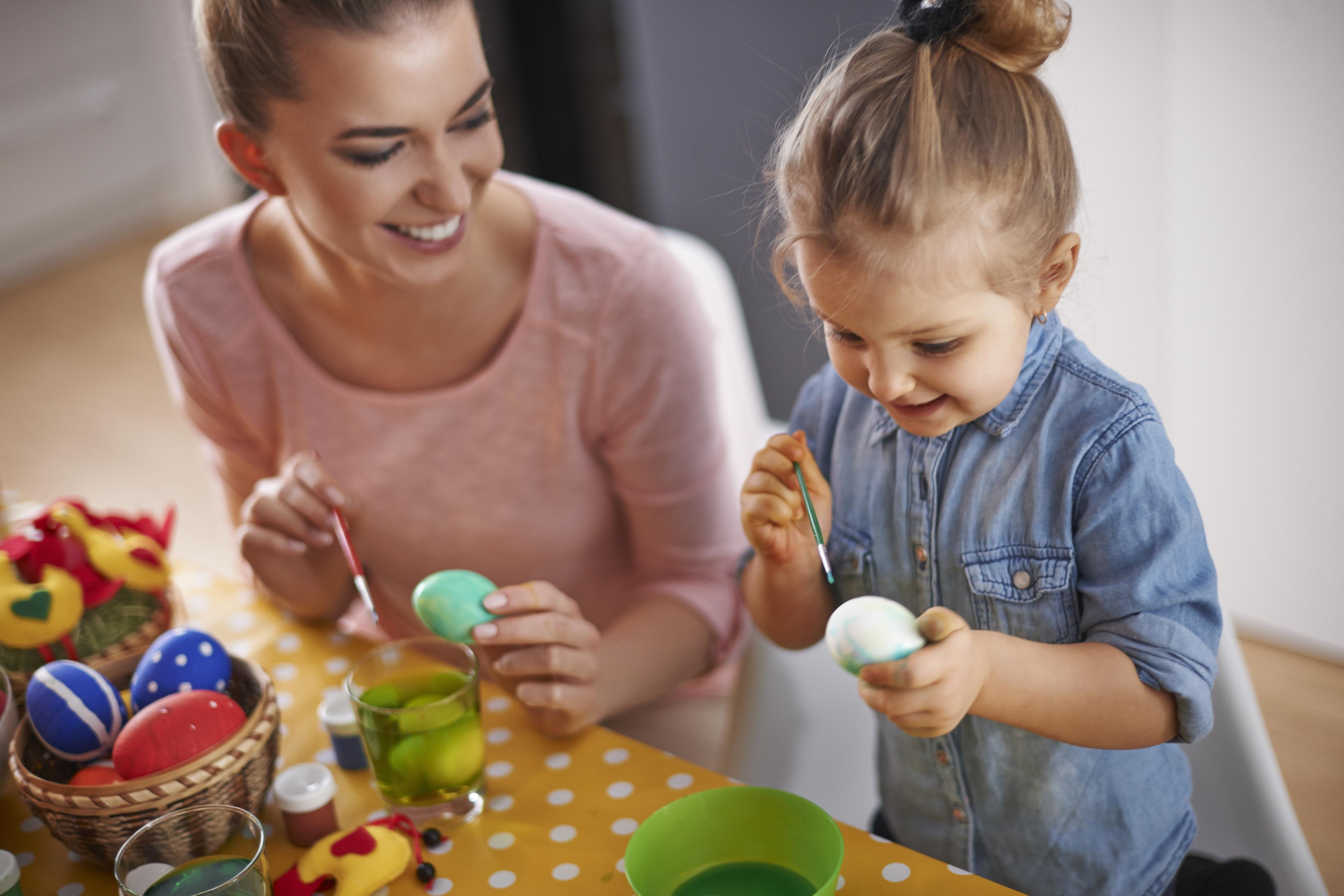La decoración de los huevos de Pascua