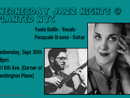 Wednesday Night Jazz at Planted