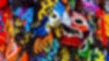 Wrestling Masken mit Logo breitband