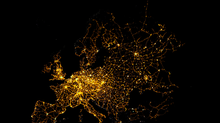 Mimicking Night Lights With QGIS And Open Street Map