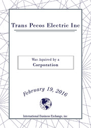 Trans Pecos Electric Inc.
