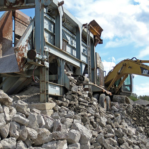 #72221RG, Mobile Rock Crushing & Screening for Oilfields, Wind Farms, Pipelines, etc., Texas
